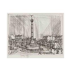 ベルナール・ビュッフェ‐バスティーユ広場