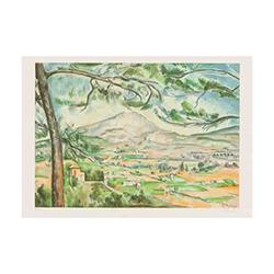 ポール・セザンヌ‐セント・ビクトワール山(エスタンプ/同図柄8枚)
