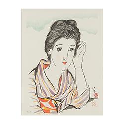 竹久 夢二‐「女十題」より