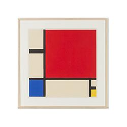 ピエト・モンドリアン‐Composition with red blue and yellow(エスタンプ)